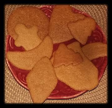 Grandma's Pepparkakor ~ Swedish Spice Cookies