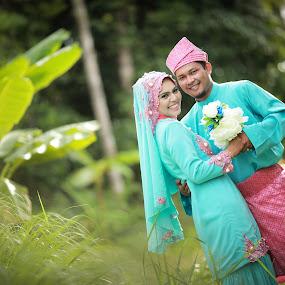 Malay Wedding by Lengz Jurufoto - Wedding Reception