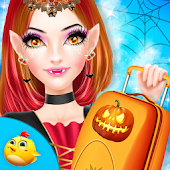 Halloween Airport Makeover