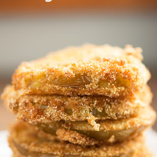 Fried Green Tomatoes with Cajun Remoulade.