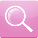 Pink Search for Google™ icon