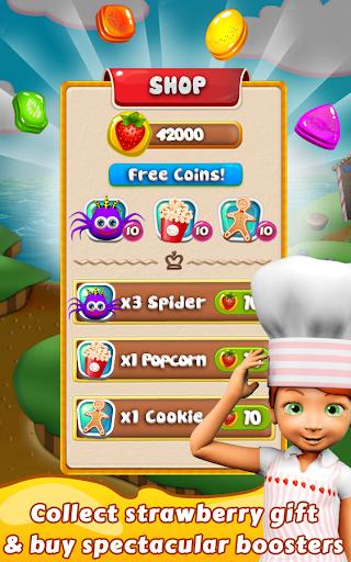 Cookie Star: Sugar cake puzzle match-3 game apktram screenshots 23