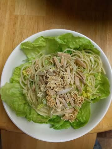 Sesame Napa Pasta Salad
