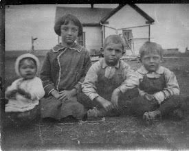 Photo: Children of Barrett & Flora Franks c1917, Jewell, Zela, Eck, Lloyd Franks