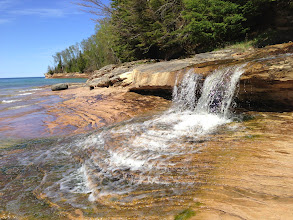 Photo: Little Miners Falls is a fine place to take a break no matter which direction you are hiking.
