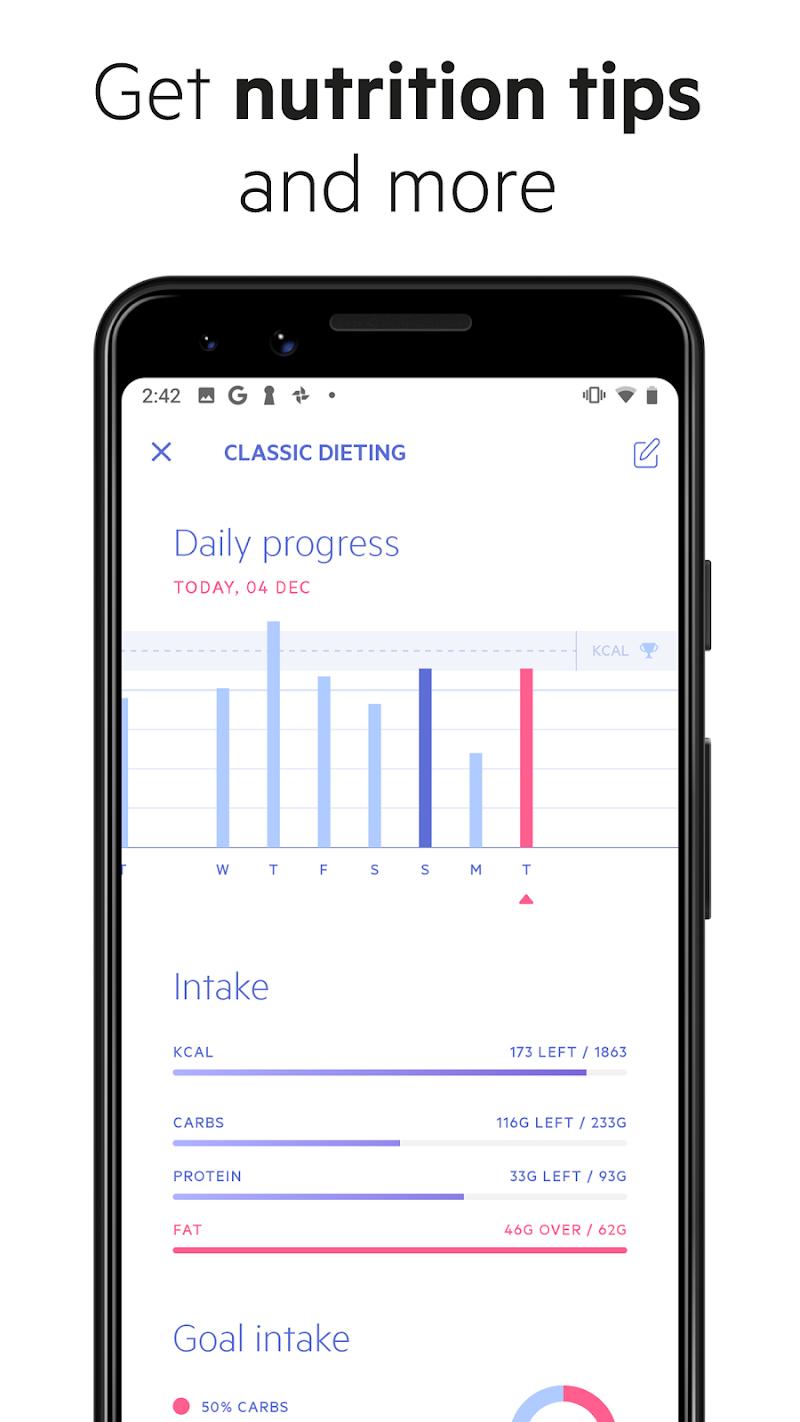Lifesum - Diet Plan, Macro Calculator & Food Diary Screenshot 4