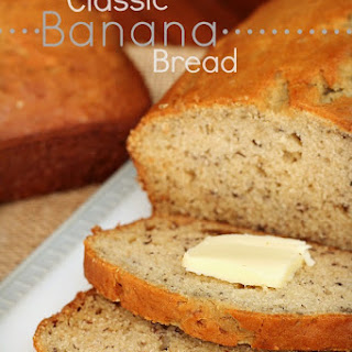 Classic Banana Bread {Mom's Recipe}