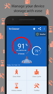Yo Cleaner - Battery Booster- screenshot thumbnail