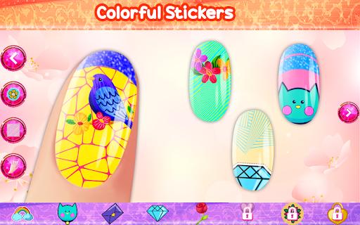 Nail Art - Color by Number, Nail Polish Coloring 1.2 screenshots 1