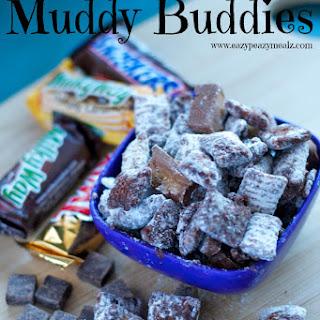 Candy Bar Muddy Buddies