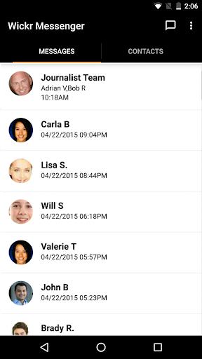 Wickr Me - Secure Messenger Screenshot
