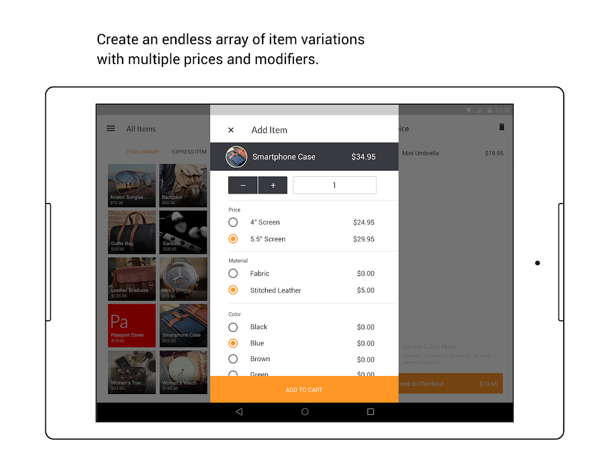 PayAnywhere Credit Card Reader- screenshot