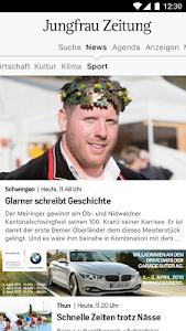 Jungfrau Zeitung screenshot 1