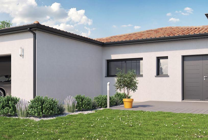 Vente Terrain + Maison - Terrain : 1000m² - Maison : 147m² à Saint-Mars-de-Coutais (44680)