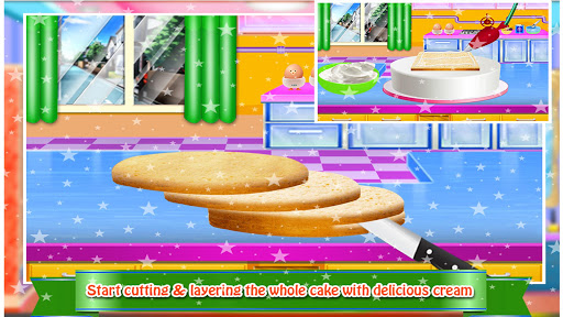 Cosmetic Box Cake Cooking image | 6