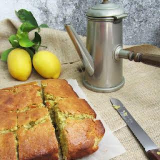 Lemon, Oat, and Poppy Seed Cake.