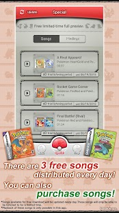 Pokémon Jukebox - screenshot thumbnail