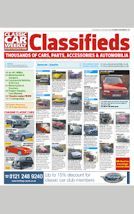 Classic Car Weekly Newspaper - náhled