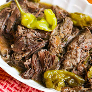 Crockpot Pepperoncini Pot Roast