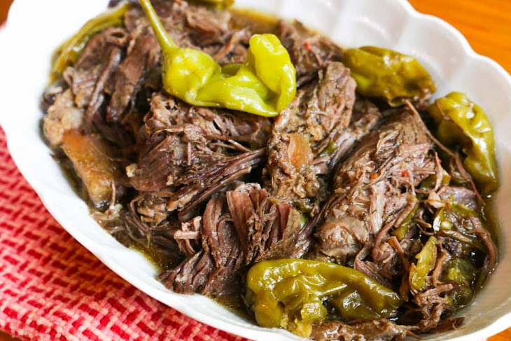 Crockpot Pepperoncini Pot Roast Recipe