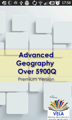 Advanced Geography Over 5900Q