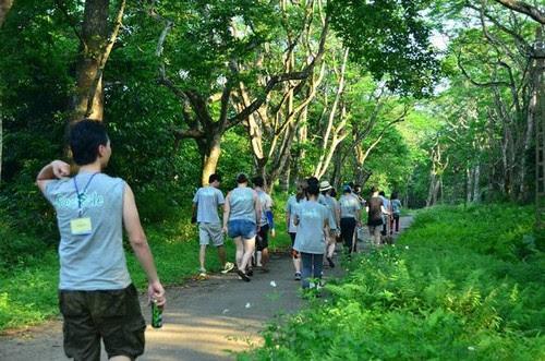 Vườn quốc gia Cúc Phương rộn rã vào hè 3