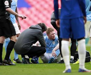 """Guardiola maakt zich zorgen over blessure De Bruyne: """"Het ziet er niet goed uit"""""""