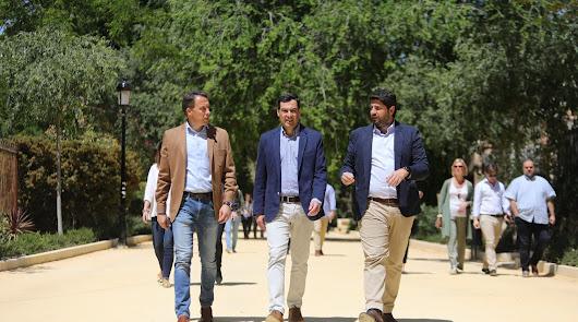 Almería acoge el lunes una cumbre Andalucía-Murcia por el trasvase del Tajo