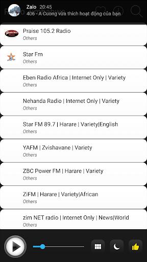 zimbabwe radio stations online - zimbabwe fm am screenshot 3