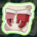 クリスマスのグローブの設計図