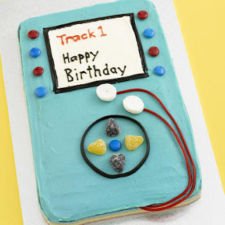MP3 Player Birthday Cake