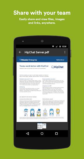 HipChat - Chat Built for Teams screenshot 4