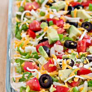 Taco Dip With Cream Cheese Without Sour Cream Recipes