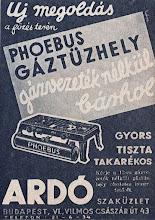 Photo: Reklama kuchenek gazowych 1935 r.