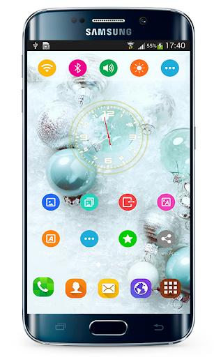 Launcher Samsung Galaxy A70 Theme ss2