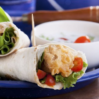 Wendy's Copycat Chicken Tortilla Wrap