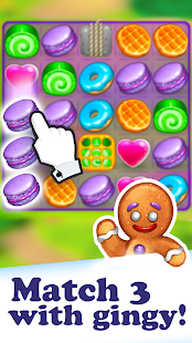 Gingy Story: match 3- screenshot thumbnail
