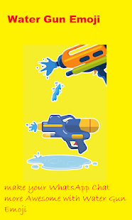 Water Gun Emoji 4