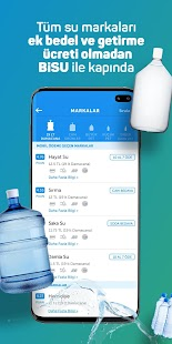 BiSU - Mobile water ordering Screenshot
