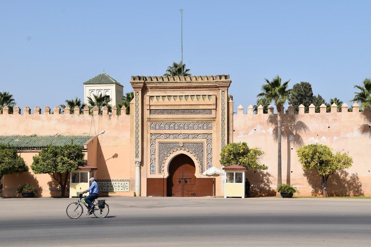 Una de las puertas del Palacio Imperial