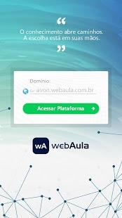 webAula - náhled