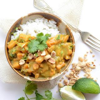 Yellow Sweet Potato Curry