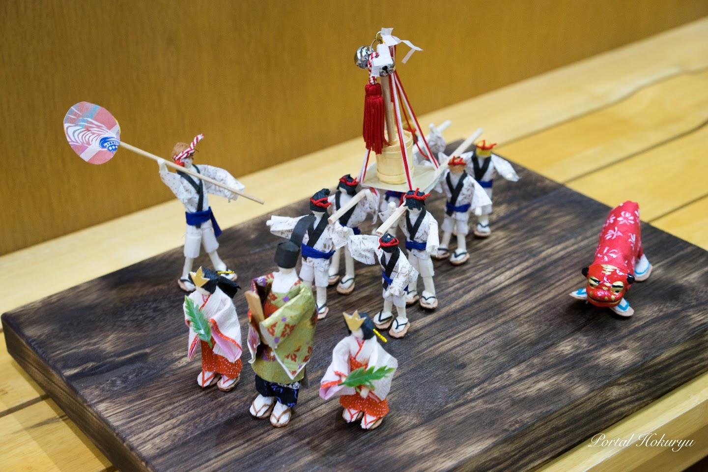 和紙人形「祭り」