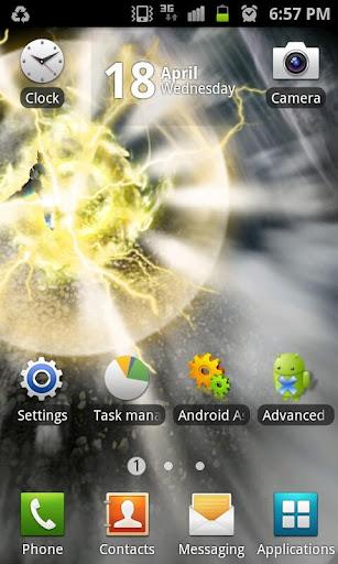 Final Flash Live Wallpaper Screenshot 1