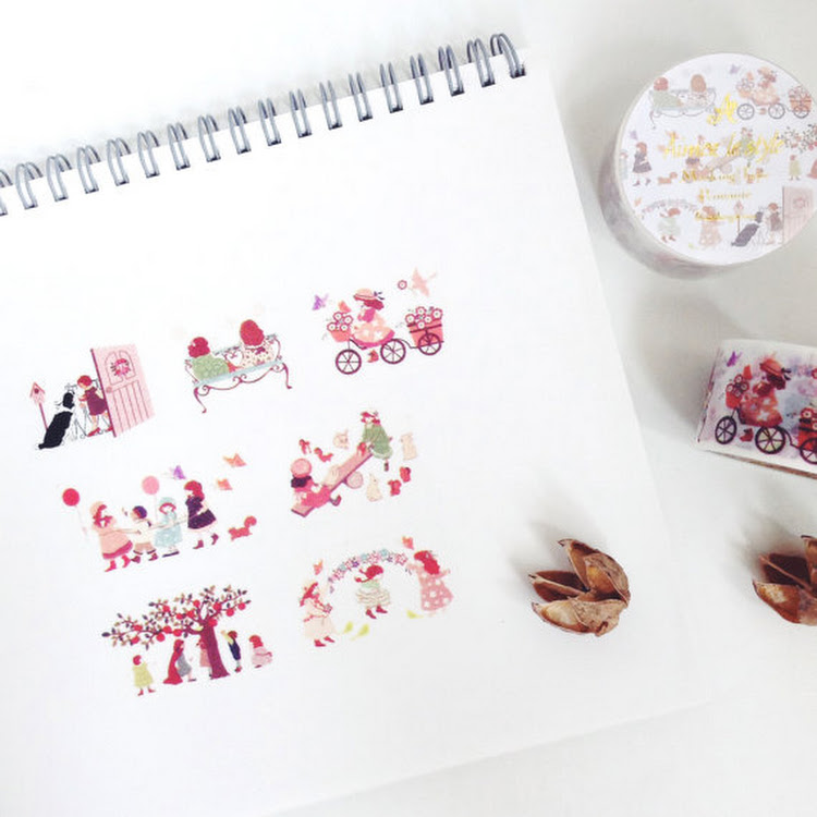 Kindergarten aimez le style masking tape washi mt by Pipit Zakka Store