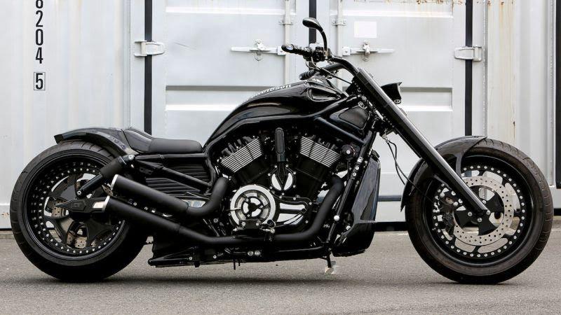 """Harley Davidson V Rod """"V-Rex"""" by Bad Land"""