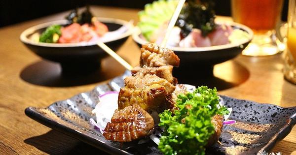 錦虎木炭串燒專門店~使用桂丁雞、A級松阪豬的高品質食材東區串燒居酒屋