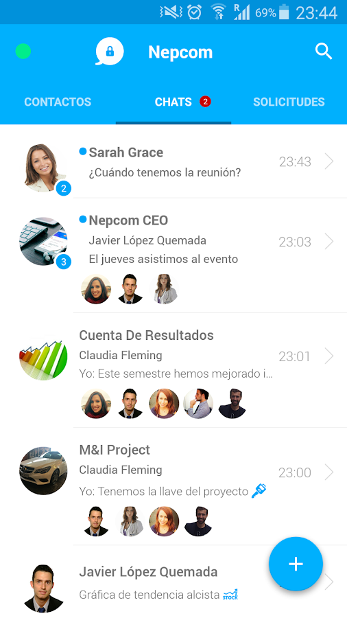 Nepcom - Corporate Chat- screenshot