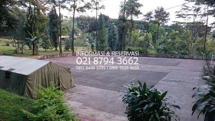 Paket Harga Camp Corporate  Kawasan Sentul Wana Wisata Villa Bukit Hambalang