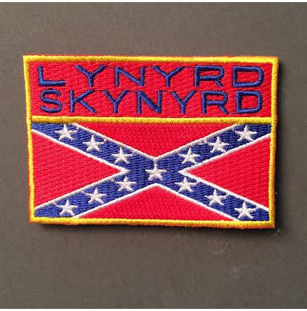 Lynyrd Skynyrd - Flagga - Tygmärke